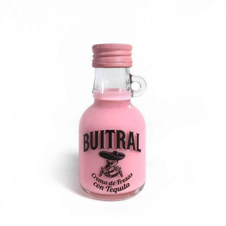 Miniatura Crema de Fresas con Tequila Buitral