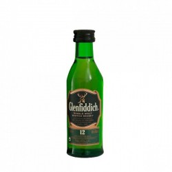 Miniaturas de whisky Glenfiddich