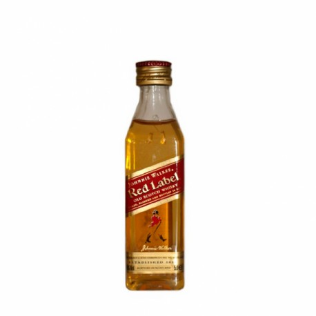 Miniatura whisky Johnie Walker Roja