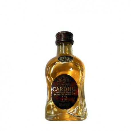 Miniatura Whisky Cardhu