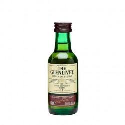 Miniatura whisky The Glenlivet