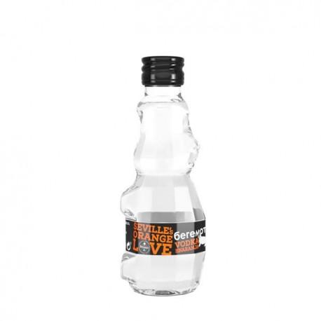 Pack 24 miniaturas de vodka Beremot naranja