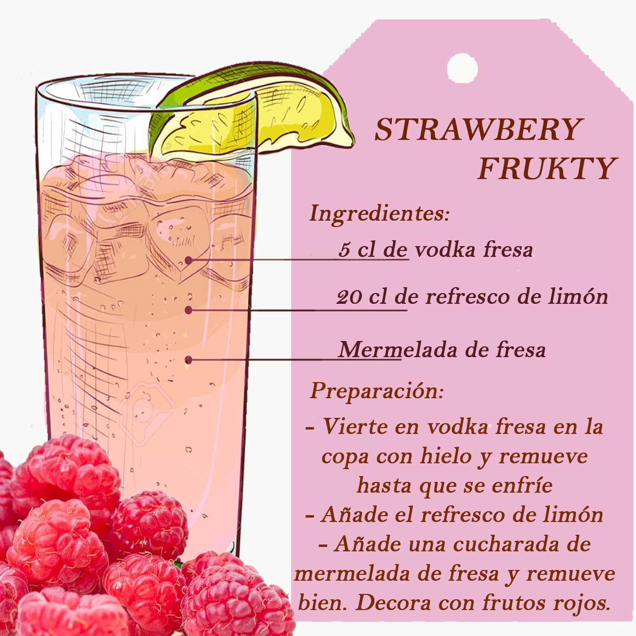 delicioso combinado fresa