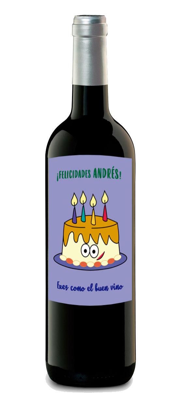 comprar botella vino personalizado
