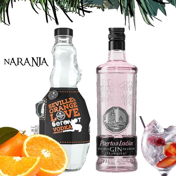 Vodka sabores y puerto de indias Sevilla