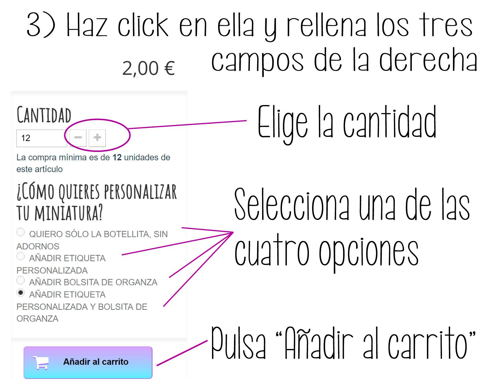 personalizar botellitas - paso 3
