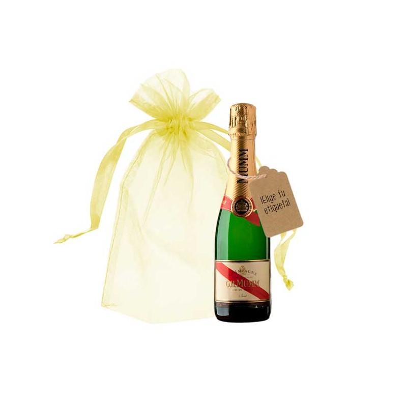 champagne botella personalizada