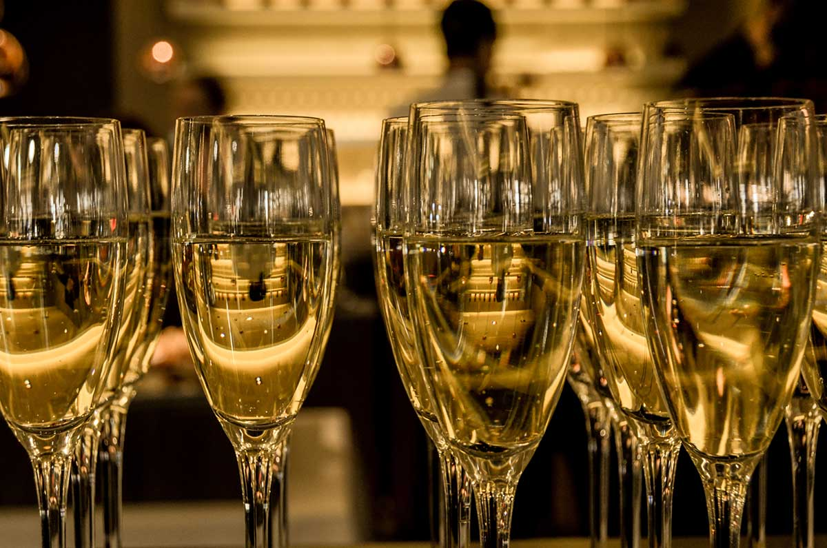 curiosidades del champagne