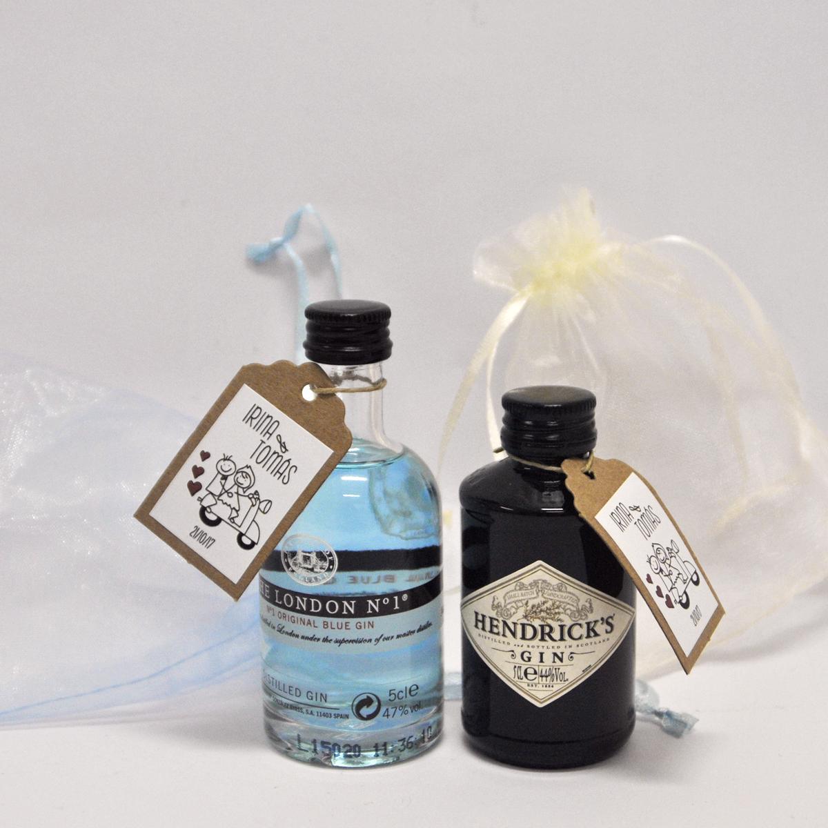 Botellitas de licores personalizadas