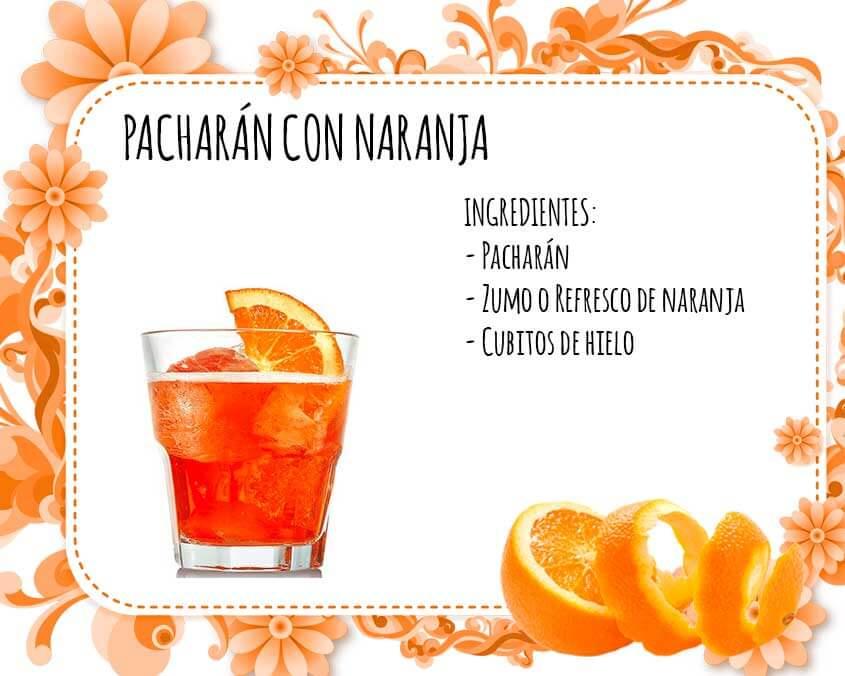 Pacharan con naranja