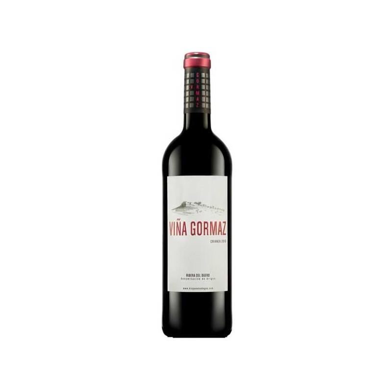 Vino viña gormaz crianza botella vino vegano