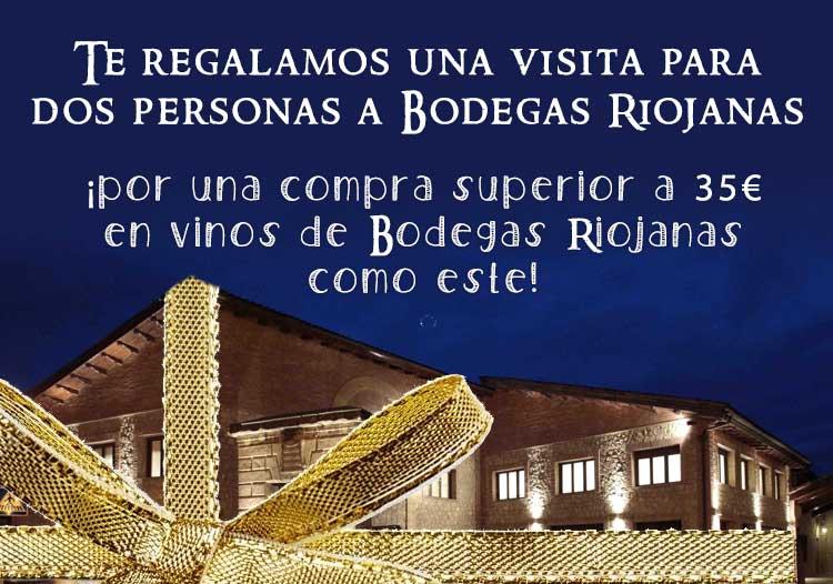 visita Bodegas Riojanas gratis