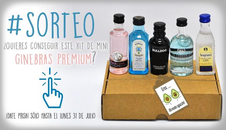 Sorteo kit mini ginebras