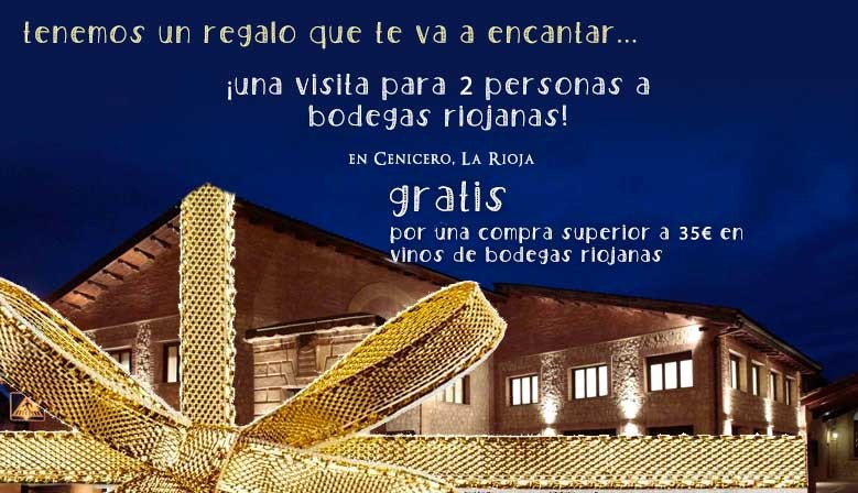 Visita a Bodegas Riojanas gratis para dos personas