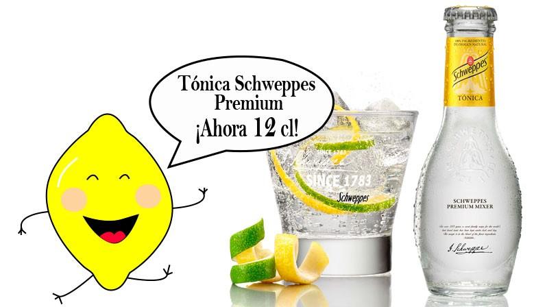 Comprar Mini botellas TÓNICA SCHWEPPES - Botellas pequeñas tónica - Tónica Schweppes 12 cl