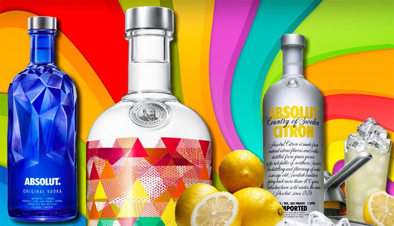 Vodka absolut sabores y vodka absolut premium edicion limitada