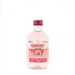 Pack de 12 miniaturas de ginebra Gordon´s Pink