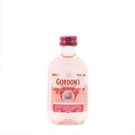 pack de 12 miniaturas ginebra gordons pink