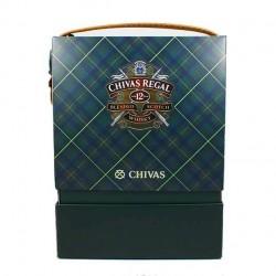 Estuche Whisky Chivas Regal 12 años