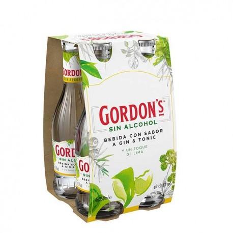 Gin Tonic sin alcochol de Gordon´s