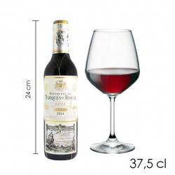 Botellita Marques de Riscal Reserva (37.5 cl)