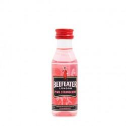 Miniatura ginebra Beefeater Pink