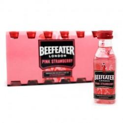 Pack 12 miniaturas ginebra Beefeater Pink