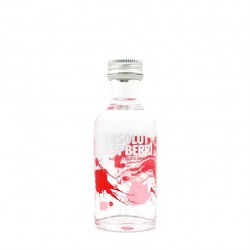 Miniatura Vodka Absolut Raspberri