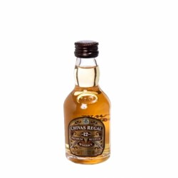 Pack de 12 miniaturas whisky Chivas