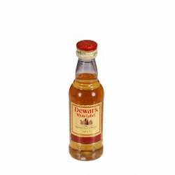 Miniatura whisky White Label