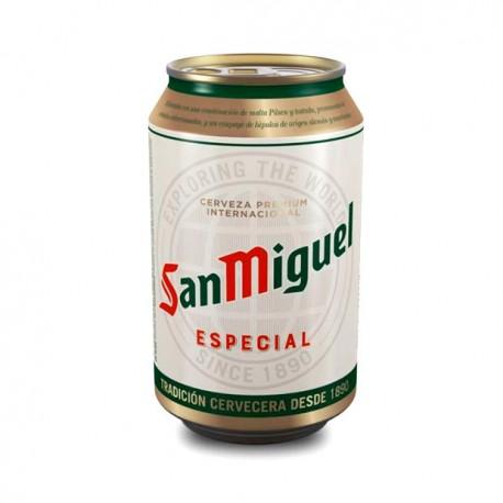san miguel cerveza en lata pack