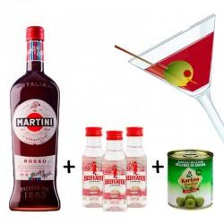 Pack aperitivo con Martini