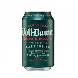 Cerveza Voll Damm (pack 24 latas)