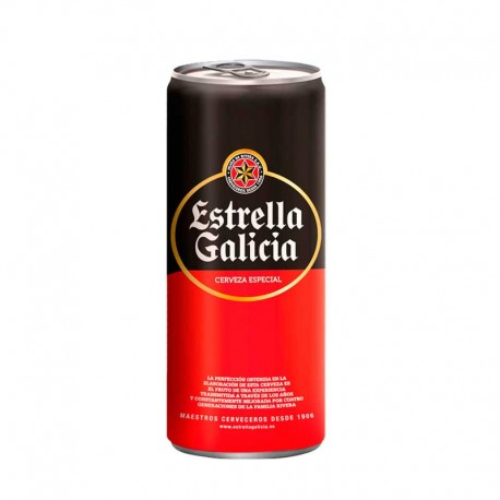 comprar online cerveza estrella galicia lata 33cl