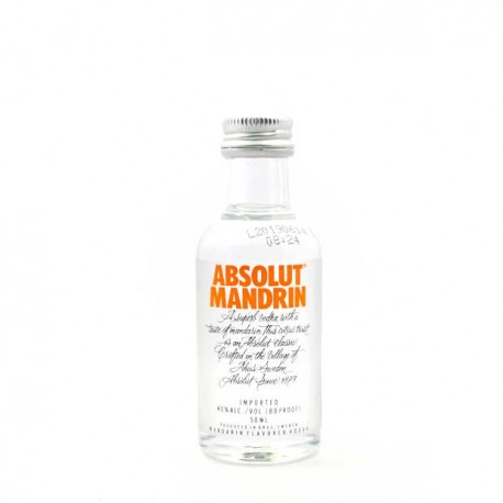 Miniatura Vodka Absolut Mandrin