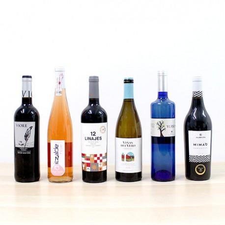 Pack Selección vino botellas