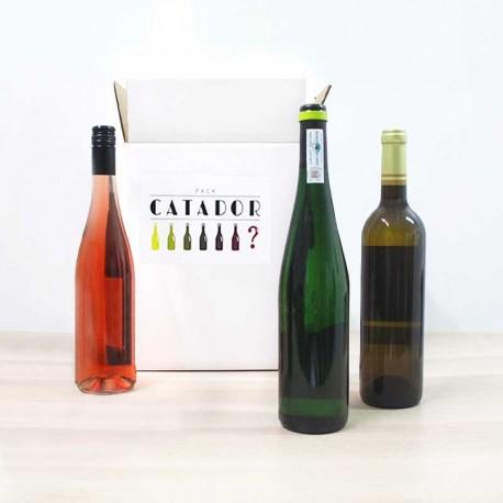 Pack catador, lote de vinos sorpresa