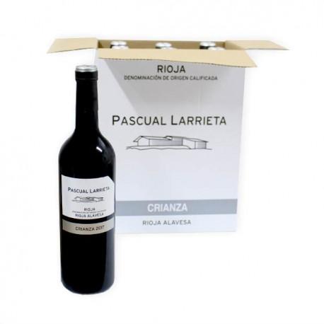 Pascual Larrieta Crianza CAJA vinos