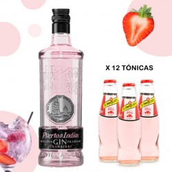 Pack Gin Tonic Rosa