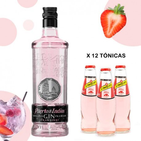 Pack Gintonic Rosa