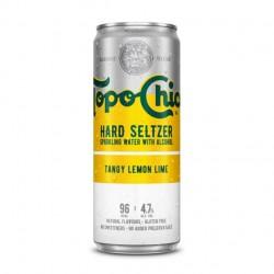 Topo Chico sabor Tangy Lemon Lime