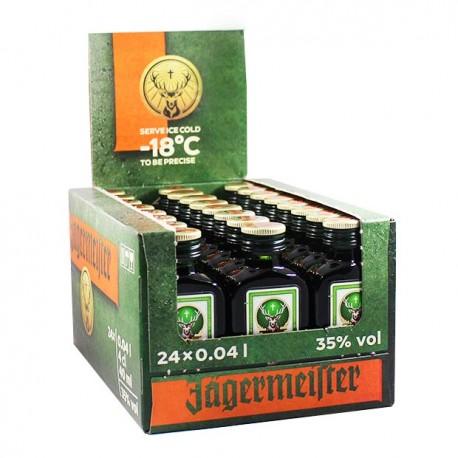 Pack 24 miniaturas Jagermeister