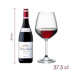 Botellita Viña Real Crianza (37.5 cl)