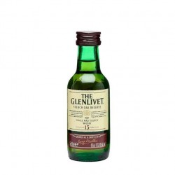 Pack 10 Miniaturas Whisky The Glenlivet