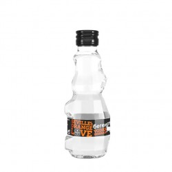 Miniatura Vodka Beremot naranja