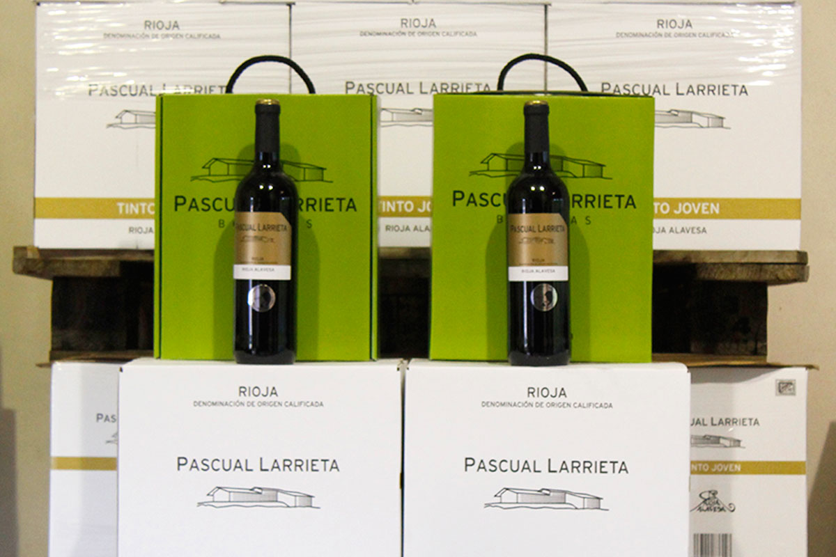 vino Pascual Larrieta Joven