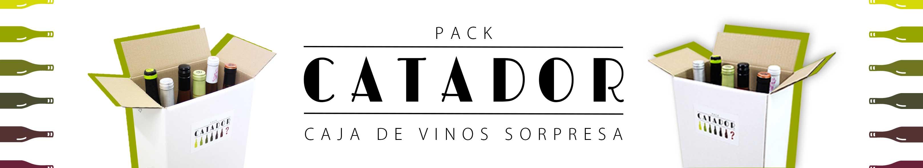 pack de vinos sorpresa cada mes