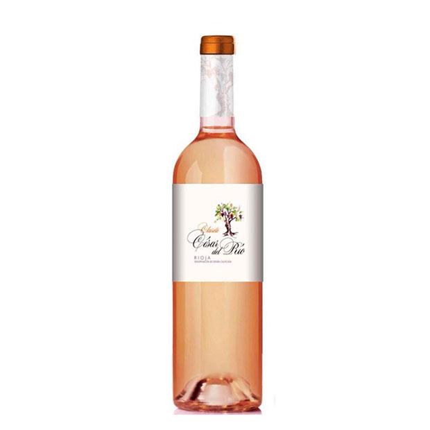 Vino rosado César del Río