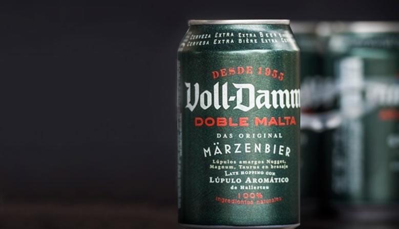 Compra online cerveza Voll Damm en lata