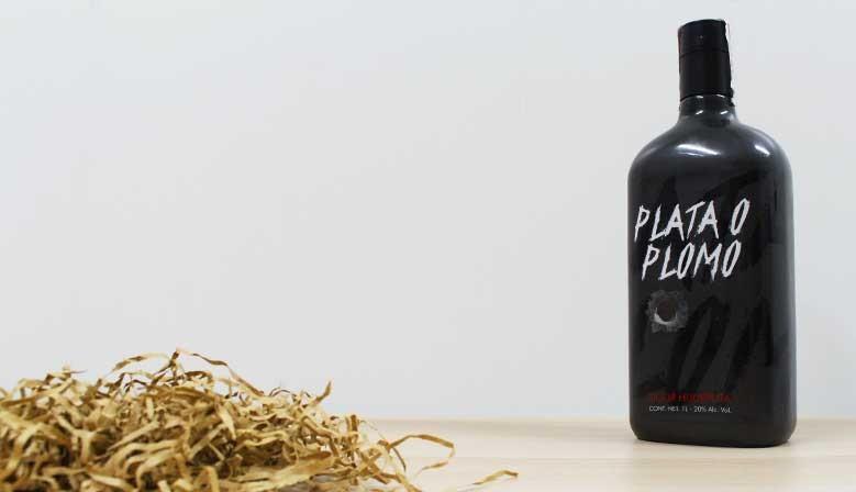 Nuevo licor hijueputa PLATA O PLOMO inspirado en la serie narcos